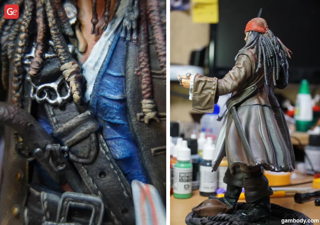 Pirate 3D print Jack Sparrow