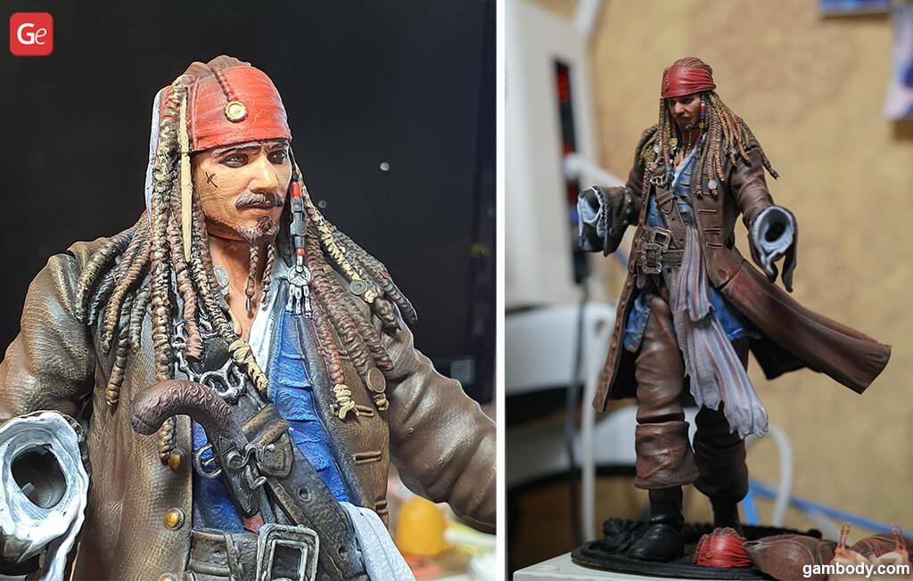 Pirate Jack Sparrow 3D print