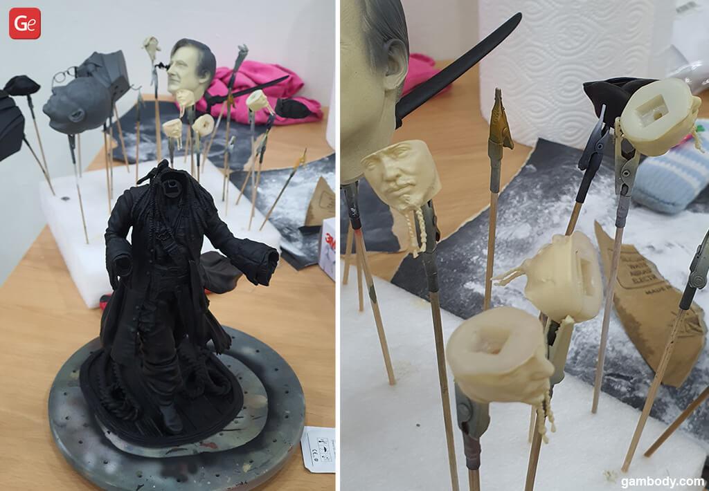 Jack Sparrow head 3D print