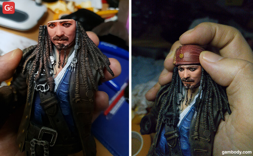 Pirates of the Caribbean 3D print