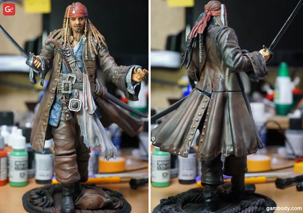 Captain Jack Sparrow 3D Print