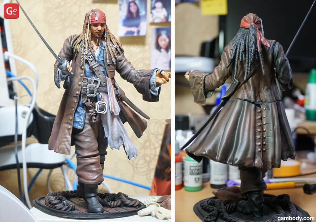Captain Jack Sparrow figure