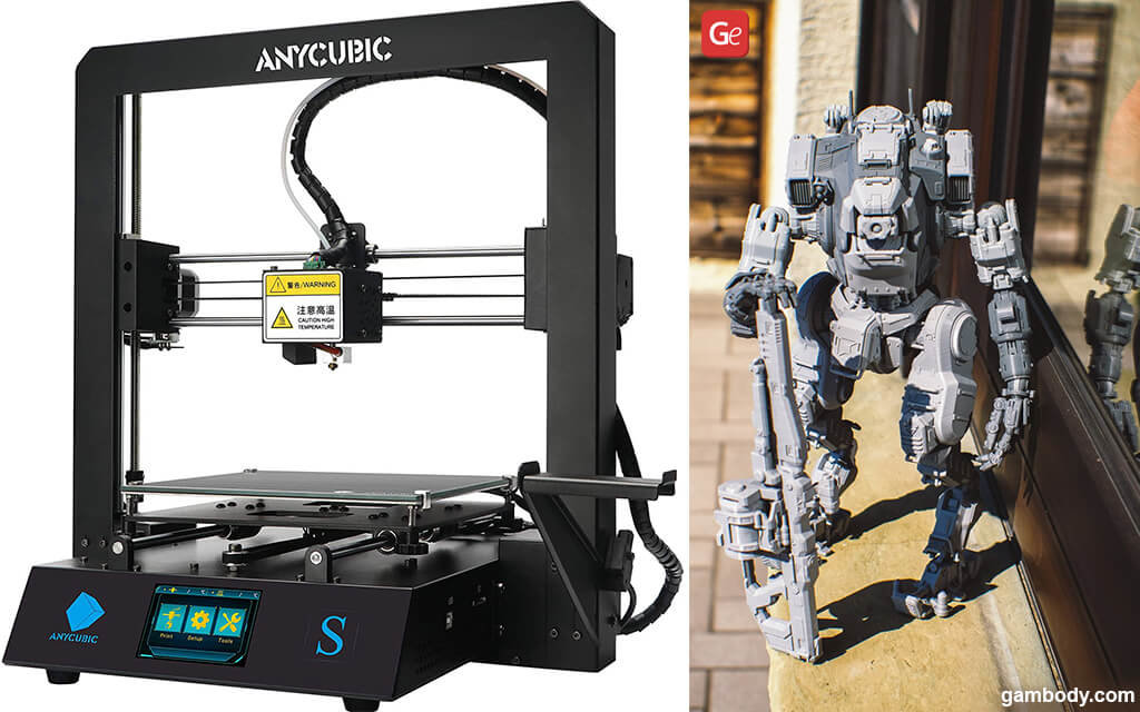 3D printer for 300 ANYCUBIC MEGA S with BT-7274