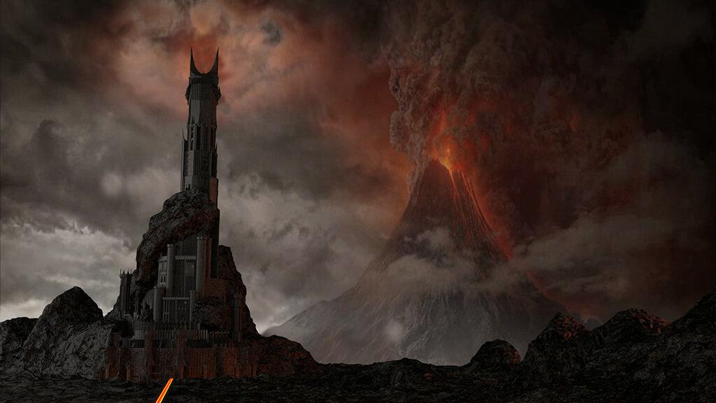 Dark Tower Barad-dûr Lord of the Rings 3D printing models