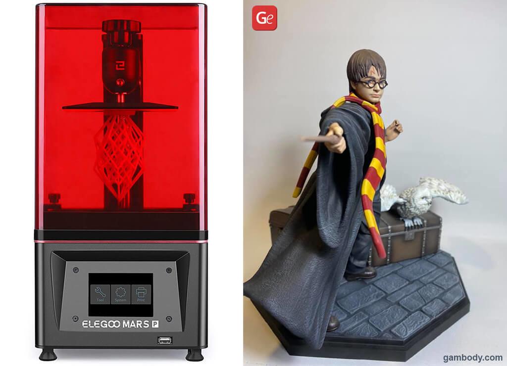 3D printer for 300 dollars ELEGOO Mars Pro