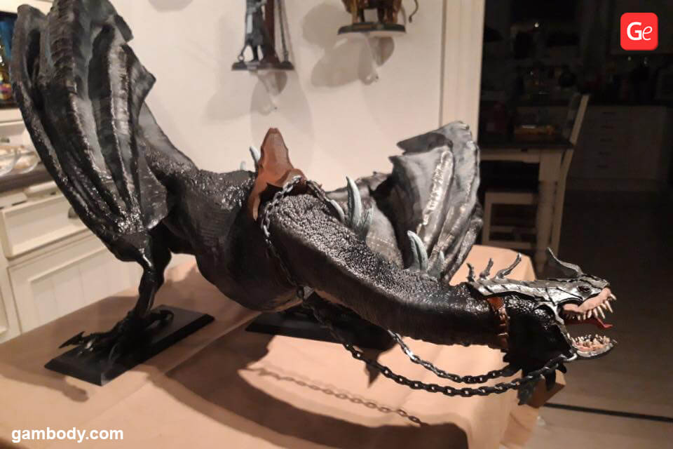 Fell Beast dragon Lord of the Rings 3D print