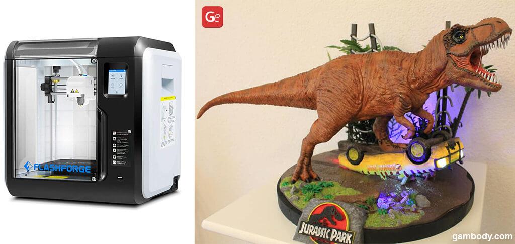 Best 3D printer under $300 2021 FlashForge Adventurer 3 Lite