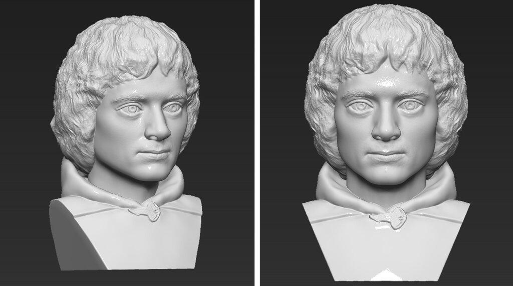 Frodo Baggins figurine STL