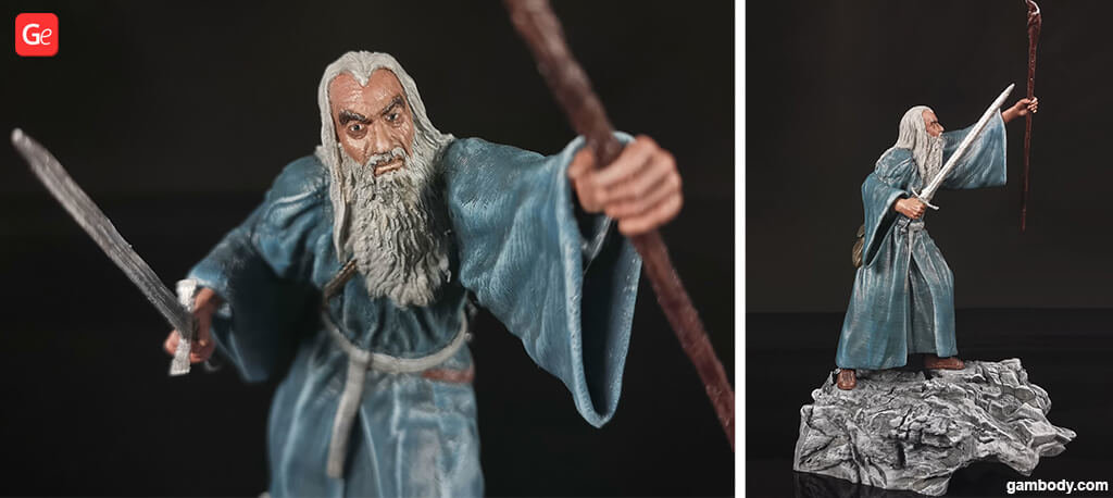 Gandalf wizard LOTR 3D printing models