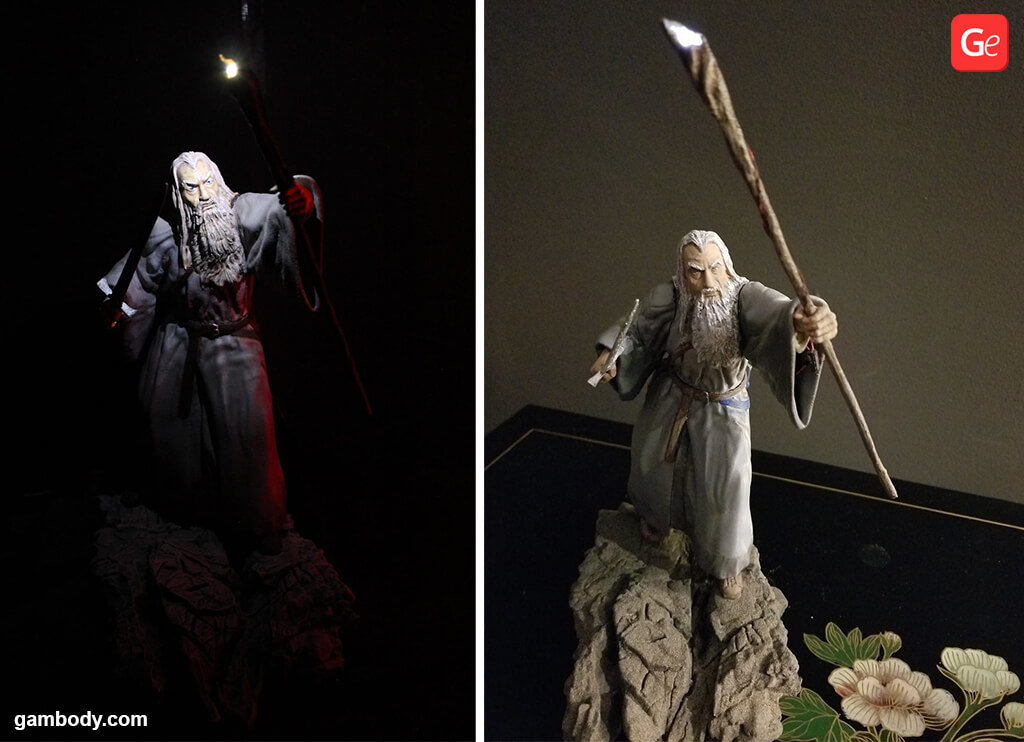 Gandalf from Lord of the Rings 3D printing miniatures STL