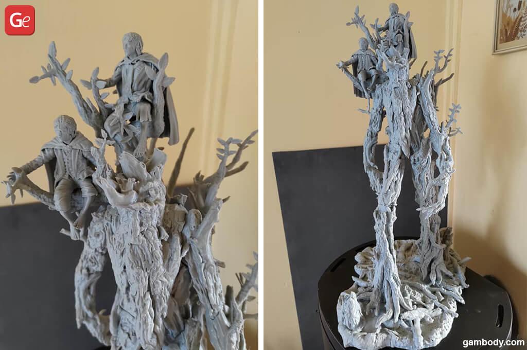 "Peregrin ""Pippin"" Took hobbit 3D printing figurine"