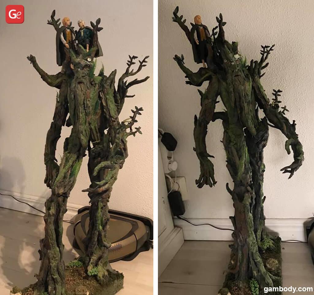 """Meriadoc """"Merry"""" Brandybuck hobbit 3D printing figure"""
