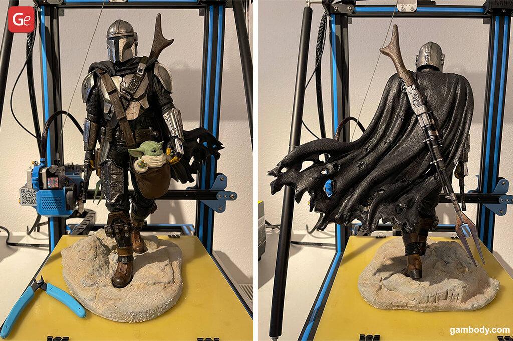 3D printing trends 2021 Mandalorian Baby Yoda figurines