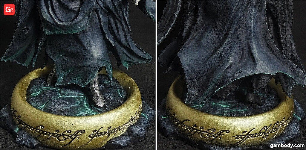 How to paint Nazgul 3D print from Lord of the Rings