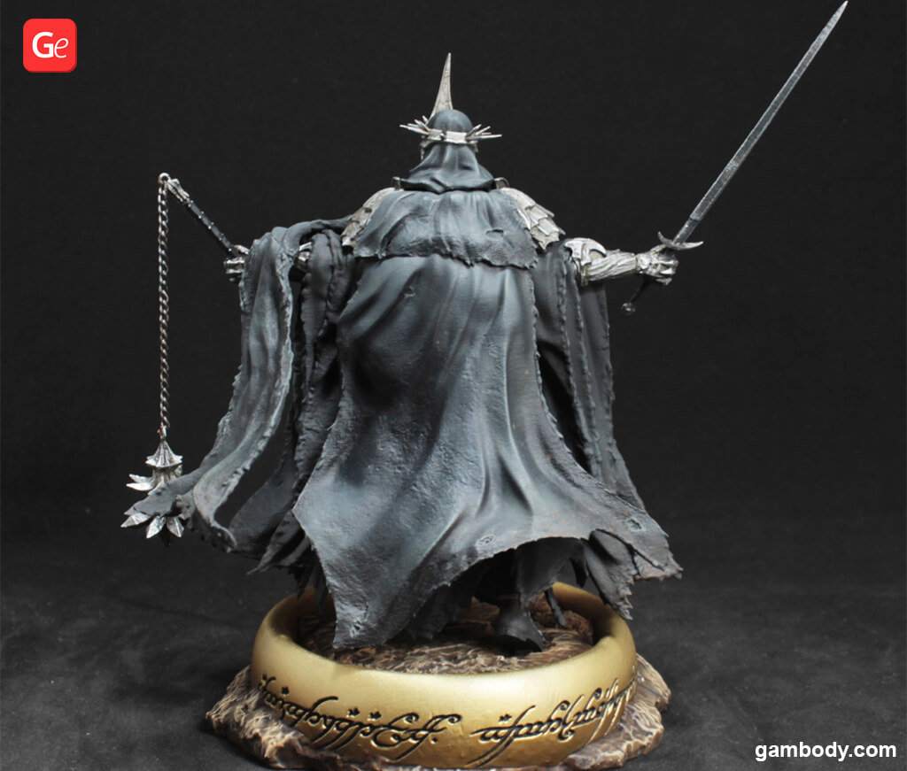 Witch-king of Angmar model 3D printed