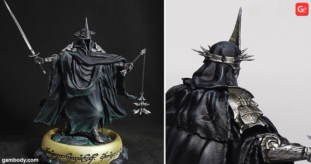 Witch-king of Angmar statue 3D print