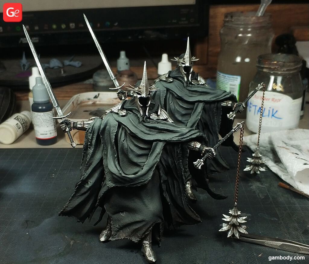 Lord of the Rings Nazgul figure 3D print