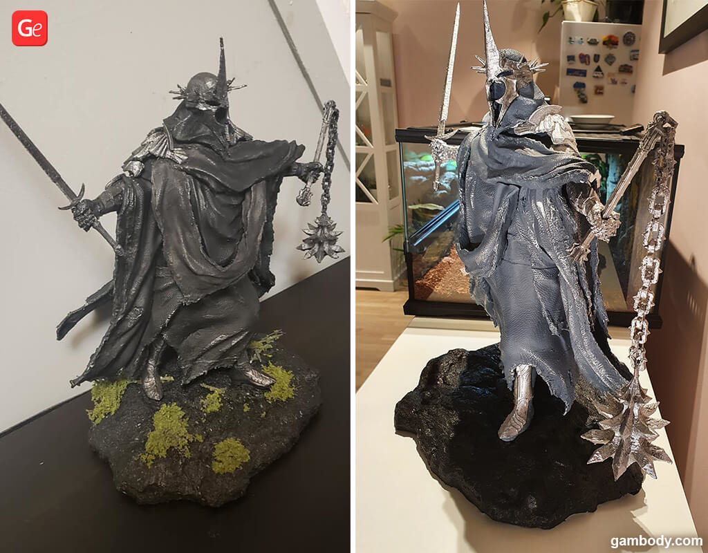 Nazgul Lord of the Rings 3D printing models