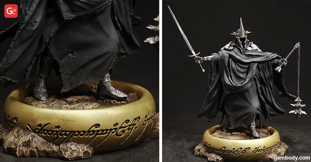 Witch-king of Angmar Lord of the Nazgûl 3D printing model