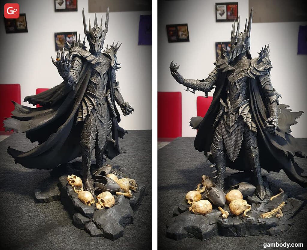Sauron 3D print LOTR
