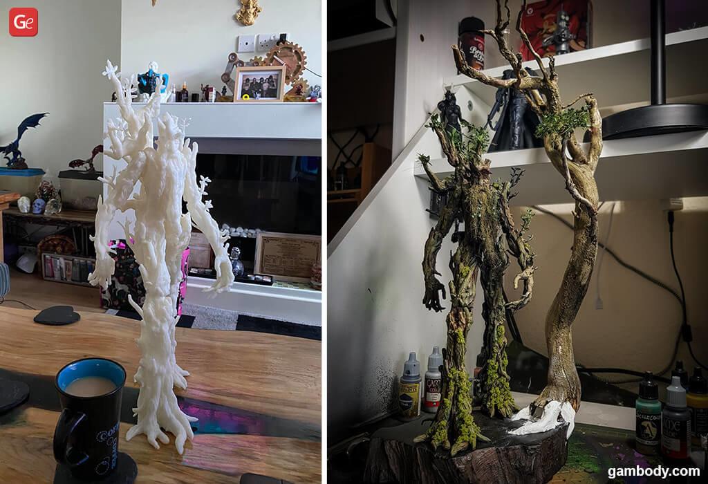 Treebeard 3D print Lord of the Rings
