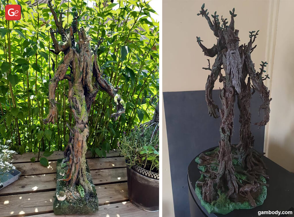 Lord of the Rings Ent 3D printing model