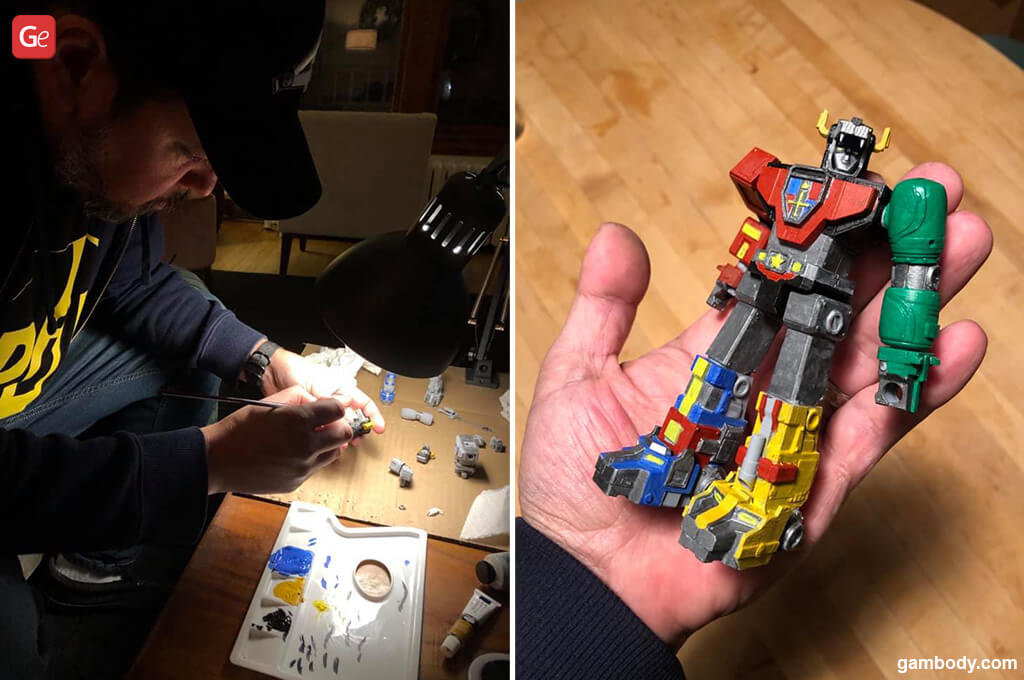 Future of 3D printing trends 2021 Voltron (1984)