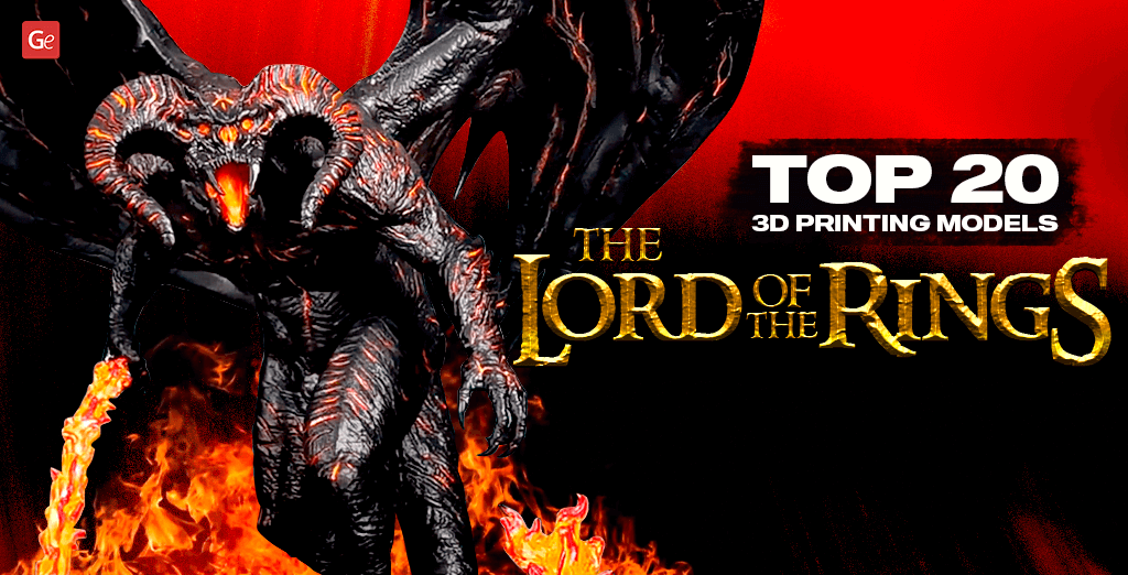 3D Print 20 Lord of the Rings Miniatures and Figurines Using Best STL Files