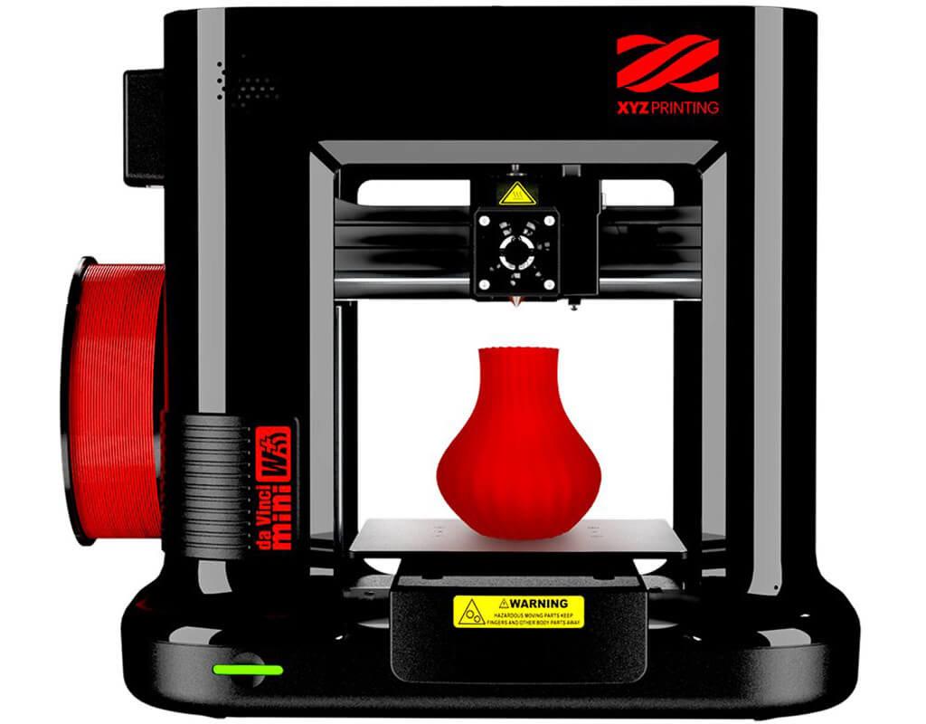 3D printers under 300 dollars XYZprinting da Vinci Mini Wireless