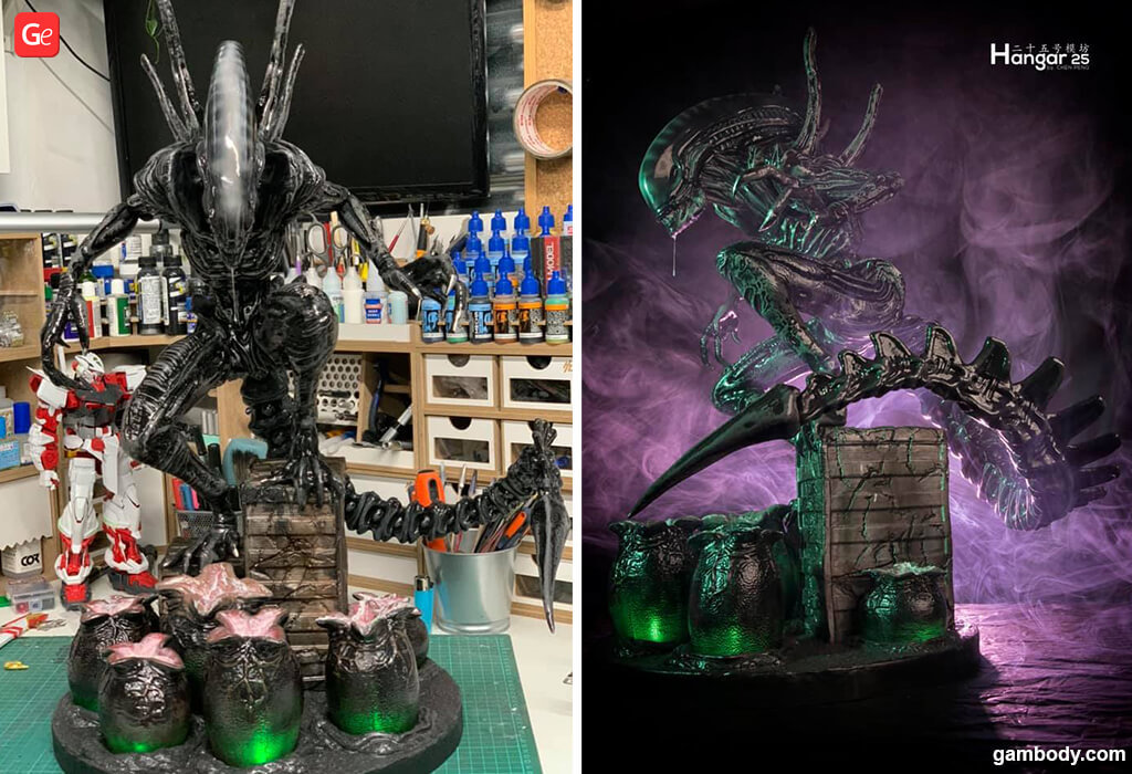 Xenomorph 3D model for printing Alien movie