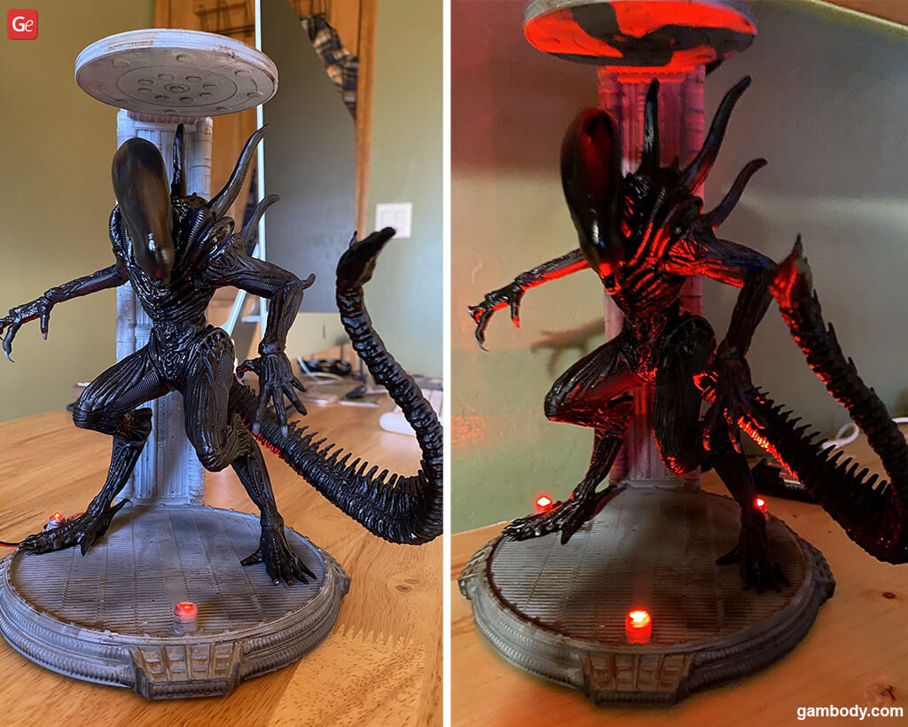 Xenomorph Alien model to 3D print