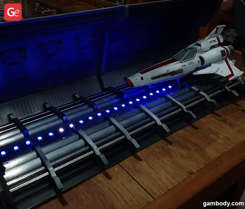 Battlestar Galactica Viper 3D model for 3D printing