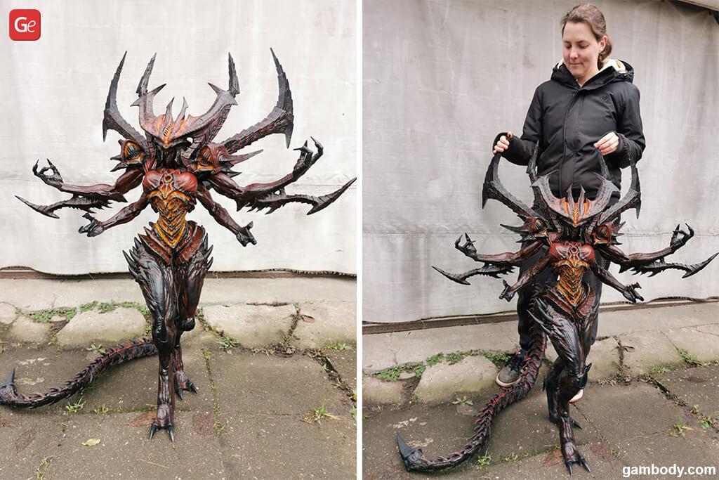 Diablo figure 3D print