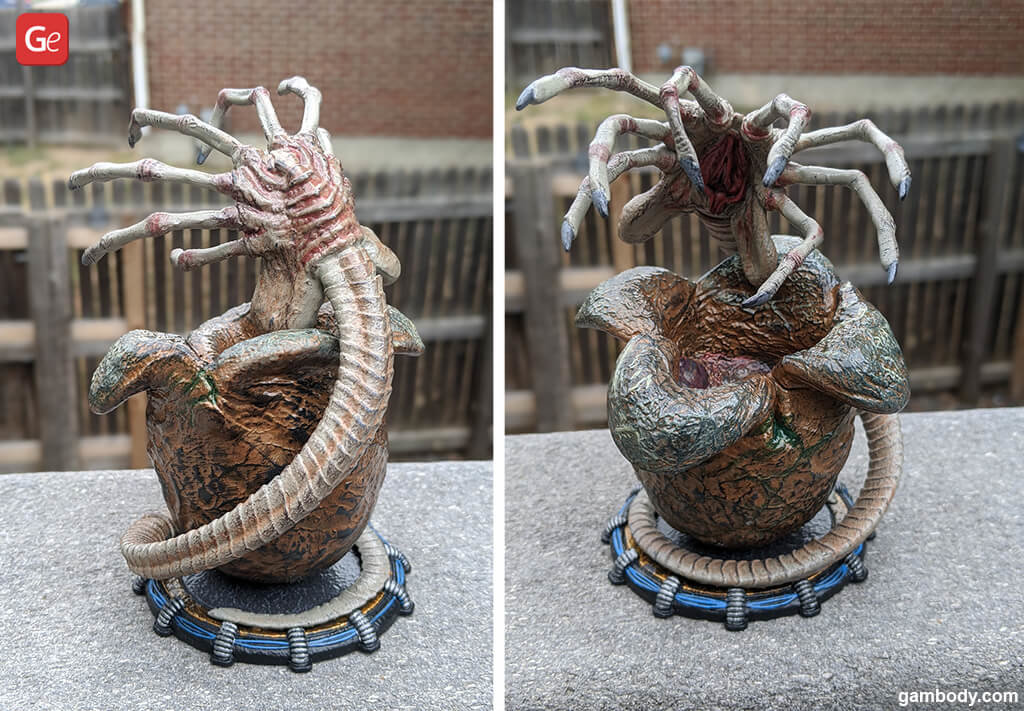 Alien Facehugger 3D print models from movie