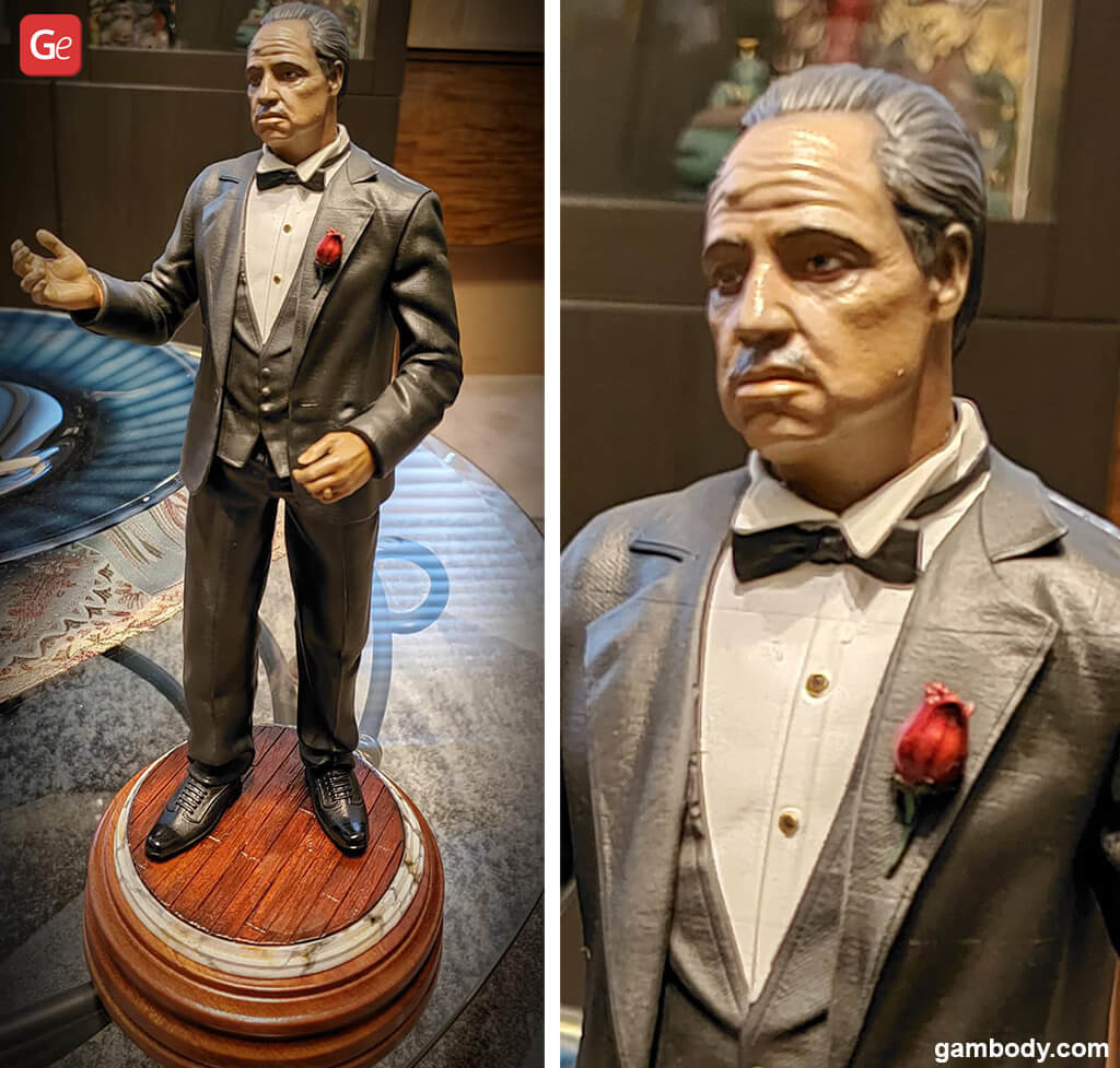Godfather figurines for 3D printing