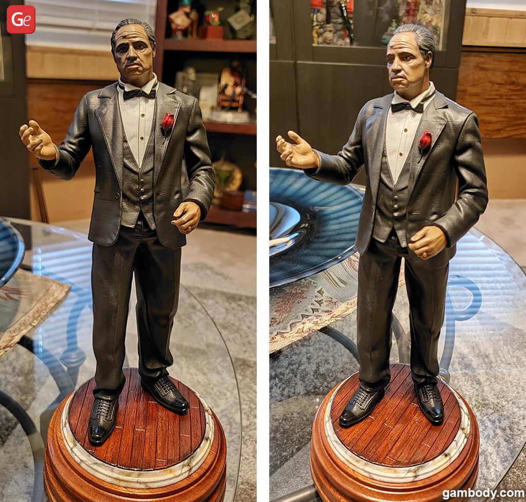 Don Vito Corleone figure 3D print