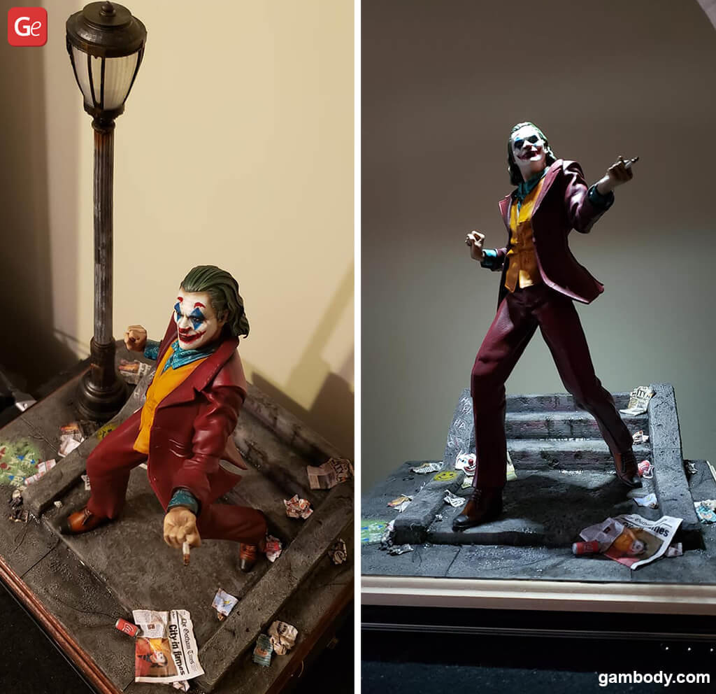 Joker movie 3D print STL files