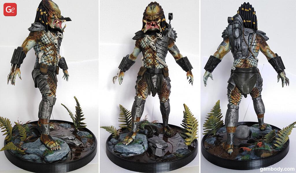 Predator STL model