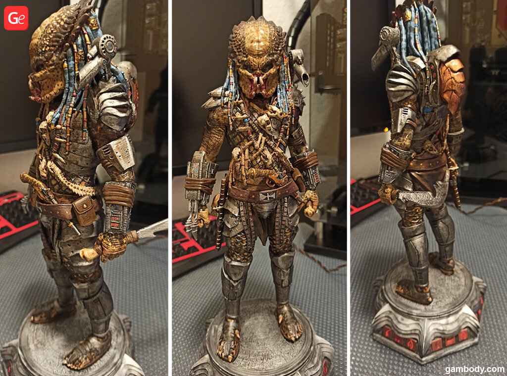 Yautja 3D print Alien vs Predator movie