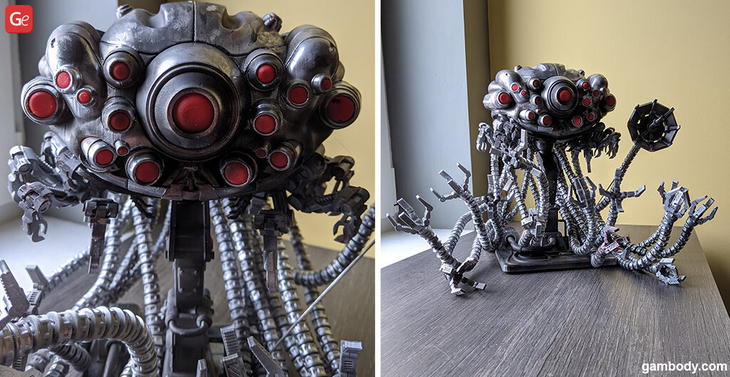 3D print Sentinel model from the Matrix