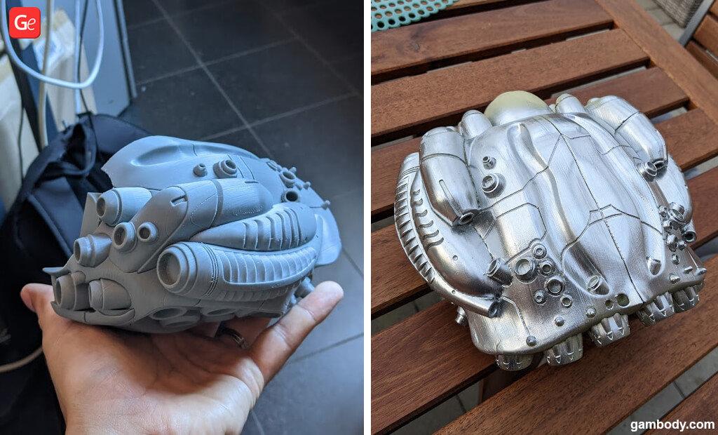 Sentinel machine 3D print
