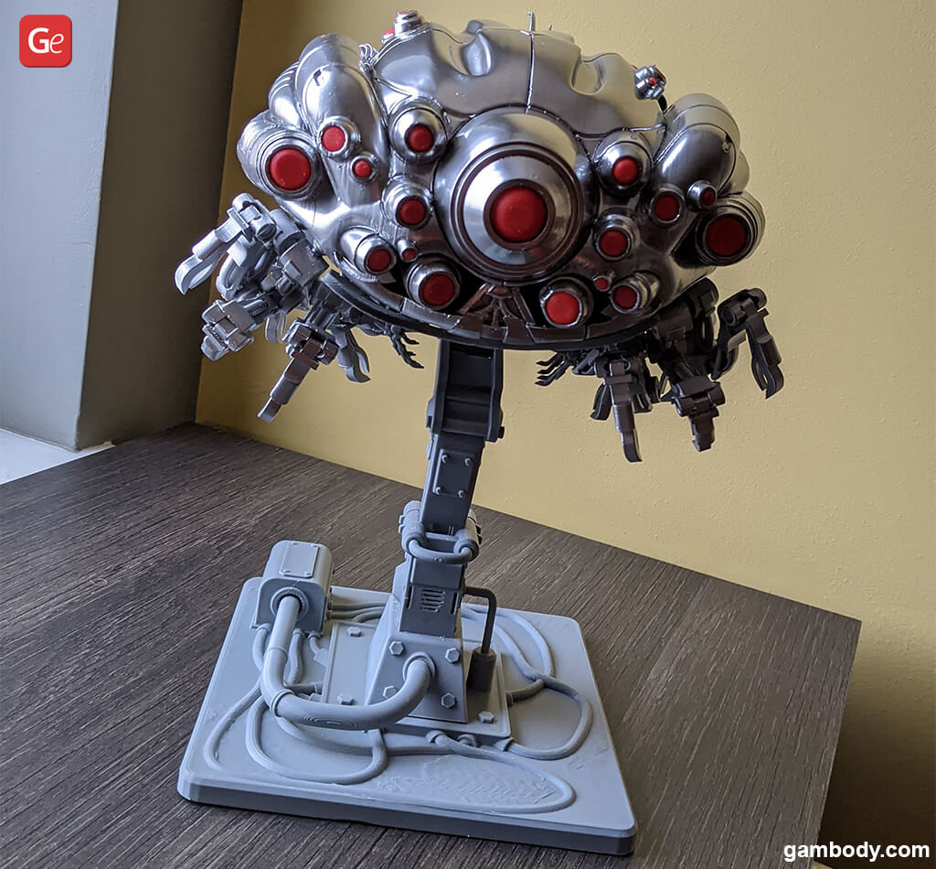 Sentinel machine red eyes 3D print