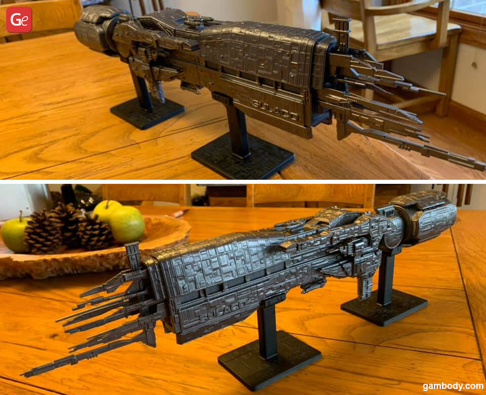 USS Sulaco 3D print Aliens models