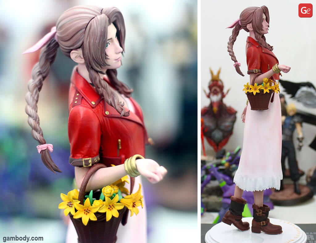 Aerith Gainsborough figure 3D print