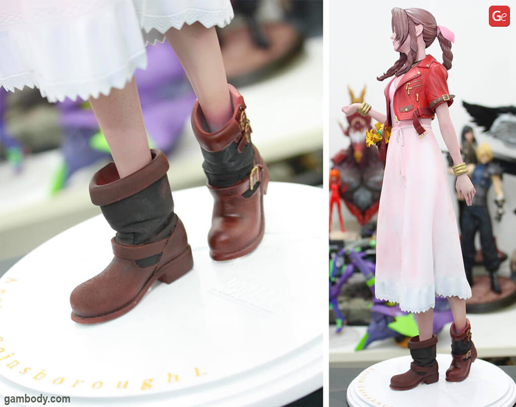 Aerith Gainsborough Final Fantasy 7 3D printed statue