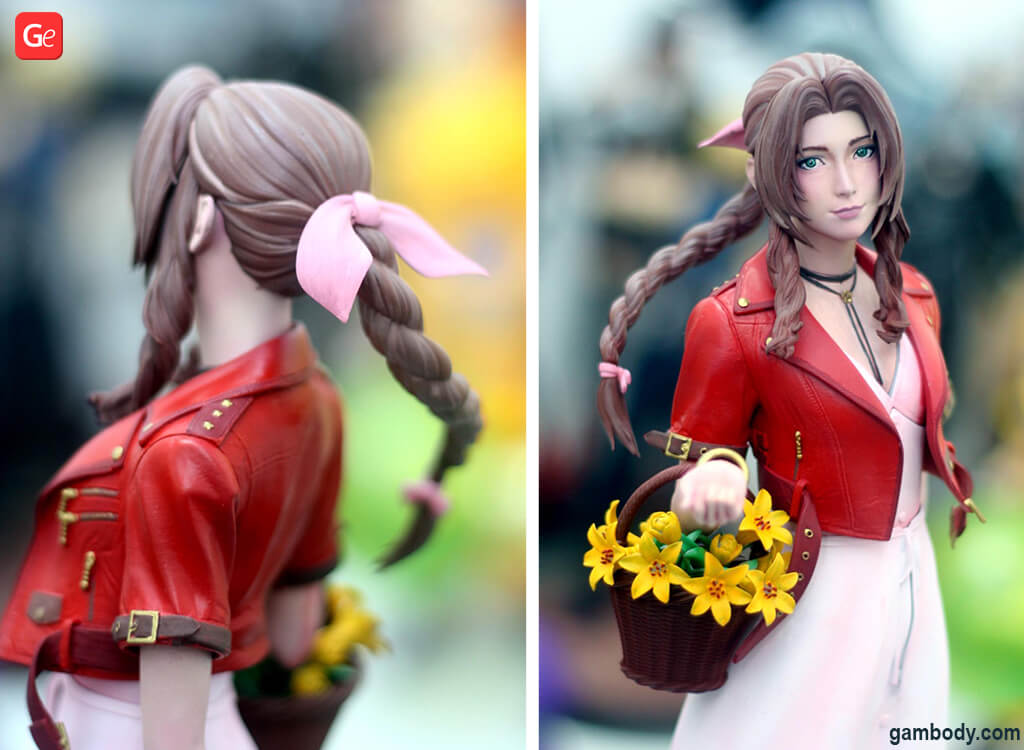 Aerith Gainsborough figure for 3D printing