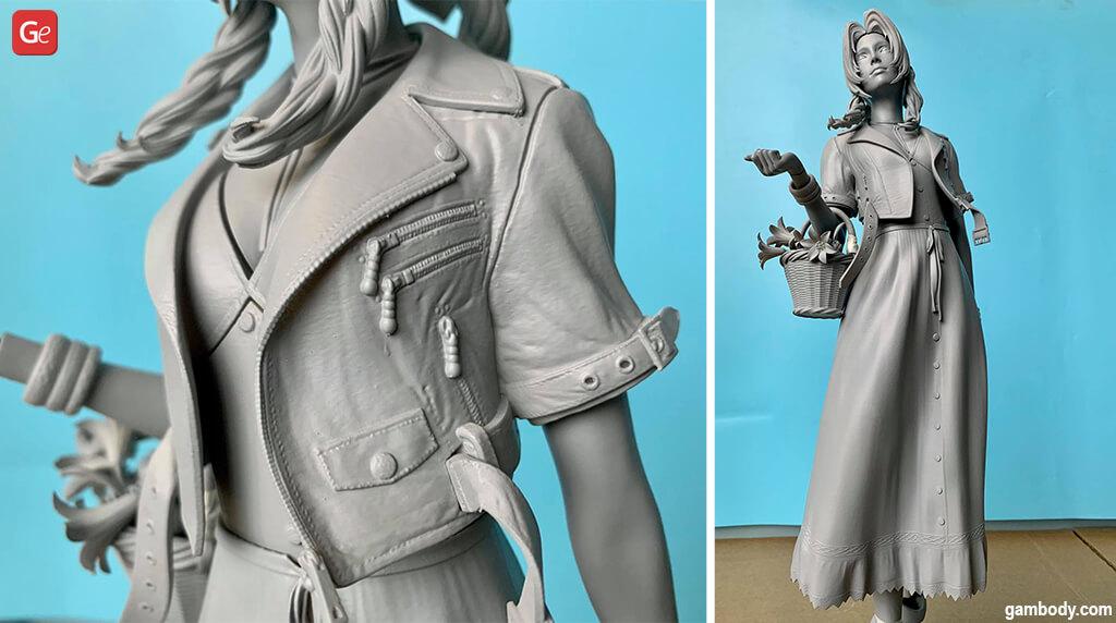 Aerith FF 3D print