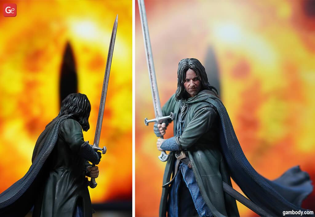 LOTR things to 3D print Aragorn