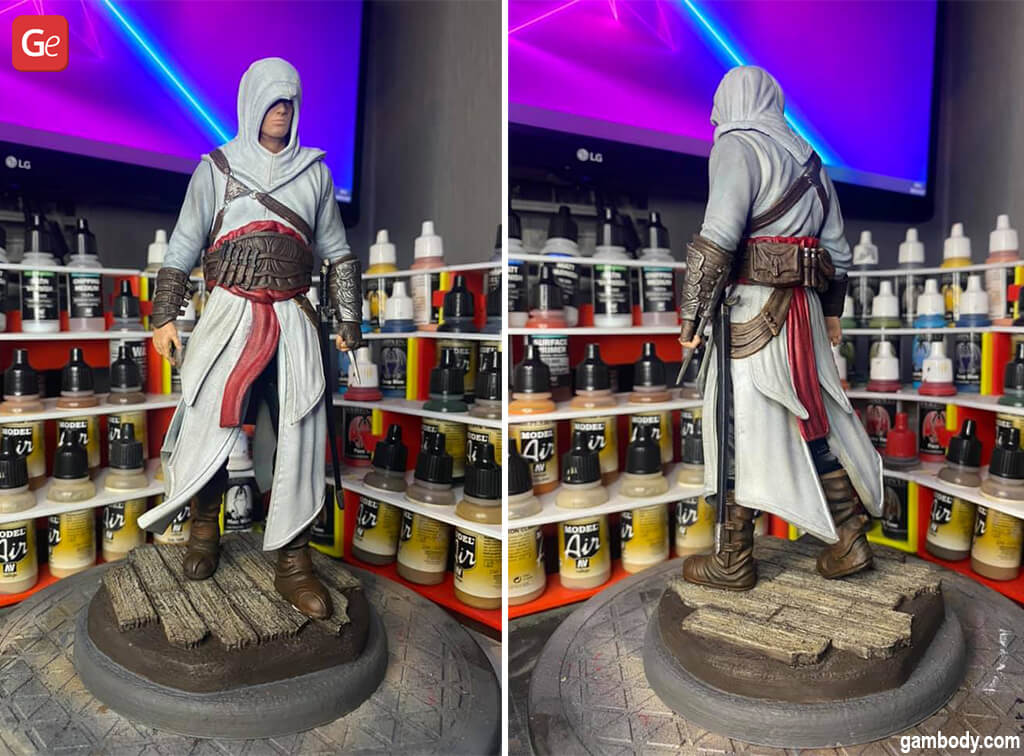 Things to 3D print Assassin Creed