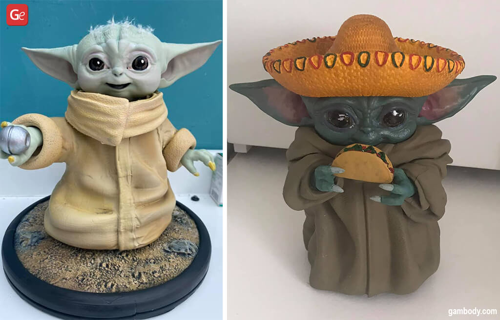 Cool things to 3D print Baby Yoda